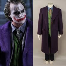 Heath Ledger Joker Halloween Costume Popular Joker Costume Vest Buy Cheap Joker Costume Vest Lots