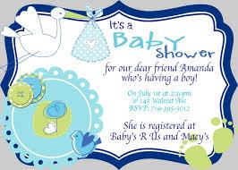baby boy invitations boy baby shower invitations rectangular shape grey frame