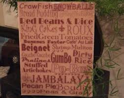 Home Decor New Orleans New Orleans Food Etsy