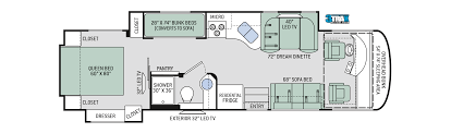Class B Motorhome Floor Plans by Palazzo Class A Diesel Motorhome Diesel Pusher By Thor Motor