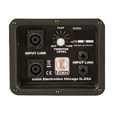 8 ohm bass speaker cabinet eden d410xst8 d series 8 ohm bass amp cabinet pro audio land