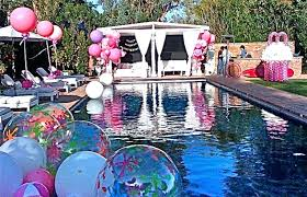 pool party ideas summer pool party themes sweet sixteen pool party ideas summer pool