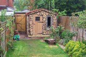 Garden Shed Decor Ideas Gorgeous Landscape Ideas For Small Backyard With Small Shed Decor