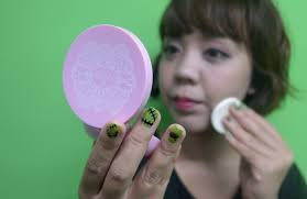 Bedak Pixy Compact Powder Finish review seharian bersama pixy bb bright fix kawaii japan