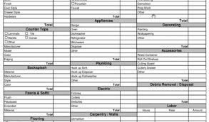 Estimate Sheet Templates Free Construction Spreadsheet Construction Estimate Spreadsheet