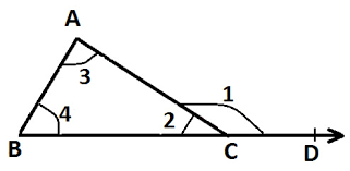 What Is Interior And Exterior Angles Exterior Angle Property Of A Triangle At Algebra Den