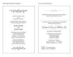 wedding invitation layout and wording wedding invitation sles wording april 14 2017 pinterest
