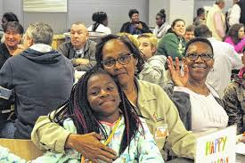 newberry observer mcms holds thanksgiving lunch