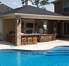 kitchen patio ideas backyard designs with pool and outdoor kitchen mellydia info