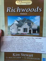 k hovnanian frisco update frisco richwoods lexington frisco