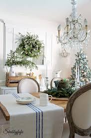 french country rustic elegant christmas dining room shabbyfufu