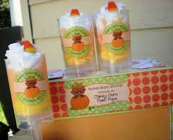 Fall Party Table Decorations - little pumpkin party ideas big dot of happiness