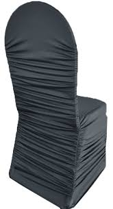 Ruched Chair Covers Pewter Ruched Rouge Spandex Stretch Chair Covers Wholesale
