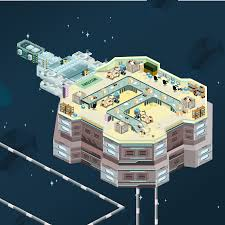 space plan game game art estation io web space station on behance