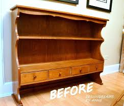 How To Make Wall Shelves Designdreams By Anne How To Make A Wall Shelf Out Of A Hutch