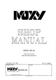 doosan dump truck mt40 shop manual workshop repair service manual