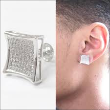 real diamond earrings for men traxnyc jewelry stock all your favorite styles single men s