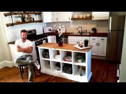 diy hacks youtube pleasant design ikea kitchen island hack outdoor fiture