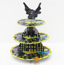 Batman Baby Shower Decorations Cheap 1set Cartoon Anime Batman Avengers Baby Shower Birthday