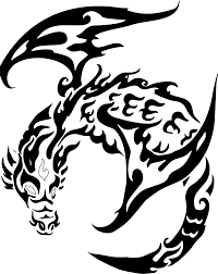 download dragon tattoo transparent danielhuscroft com