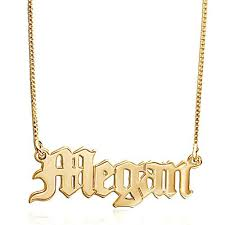 name plate necklaces nameplate necklace initial obsession