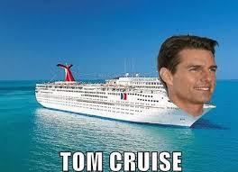 Cruise Ship Meme - tom cruise pure gag on imgfave