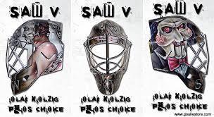 Saw Mask Saw V And The Tampa Bay Lightning