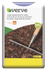 verve large bark chipping 100l bulk bag departments diy at b u0026q