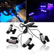 car led light strip aliexpress com buy 1 set 3led car led interior decoration under