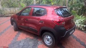 renault kwid red colour renault kwid official review page 25 team bhp