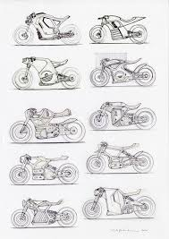 106 best draw bike images on pinterest honda motorcycles and