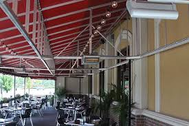 hanging heat ls for restaurants the industry leaders in commercial radiant and infrared