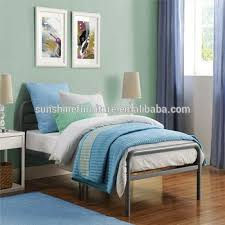 Twin Size Bedroom Furniture Bedroom Furniture Silver Black Metal Twin Size Bed With