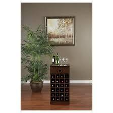 Wine Storage Cabinet Natalia Modular Wine Storage Cabinet Wood Chestnut American