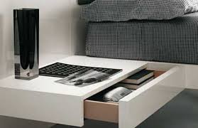 How To Make A Floating Nightstand Fabulous Floating Drawer Nightstand Floating Nightstands With
