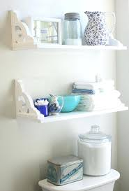 Bathroom White Shelves White Bathroom Shelf Northlight Co