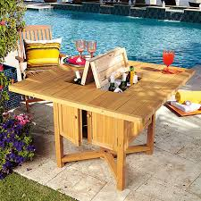 Cooler Patio Table 3 In 1 Cooler Dining Table The Most Essential Table At Your Next