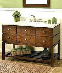 Bathroom Vanity Shelves Bathroom Vanity With Shelfreclaimed Wood Vanity With Shelf