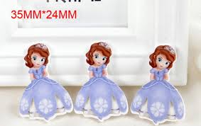 shop diy cartoon sofia princess crown flatback resin planar
