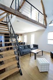 J Aime La Continuité De La Poutre Comme Mezzanine Inspiration Gain De Place Côté Maison
