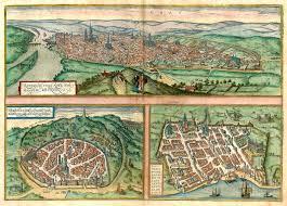 map of rouen antique map of rouen nà mes bordeaux by braun hogenberg