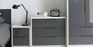 Oak And White Gloss Bedroom Furniture - assembled furniture u2013 next day delivery assembled furniture from
