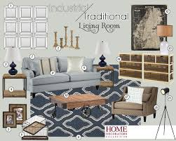 mood board for all two living rooms
