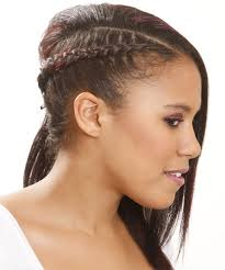 hair up styles 2015 half up long straight casual braided half up hairstyle black