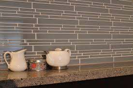 Mosaic Tile For Backsplash by Chimney Smoke Linear Glass Mosaic Tile Kitchen Backsplash