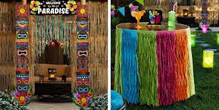 luau decorations luau decorations hanging wall decorations party city