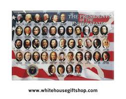 American Flag Magnet All Presidents Of The United States Magnet