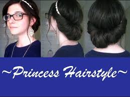 headband styler easy prom hair headband updo princess hairstyle