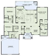 Floor Plans With Porte Cochere Craftsman Plan 2 091 Square Feet 3 Bedrooms 2 Bathrooms 110 01022