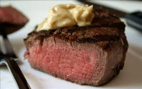 cuisine filet mignon marinated filet mignon with flavored butter recipe filet